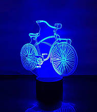 """Детский ночник - светильник """"Велосипед"""" 3DTOYSLAMP"""
