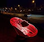"""Детский ночник - светильник """"Автомобиль 3"""" 3DTOYSLAMP, фото 2"""