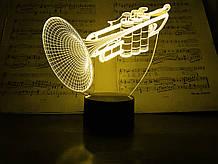 """Дитячий нічник - світильник """"Труба"""" 3DTOYSLAMP"""