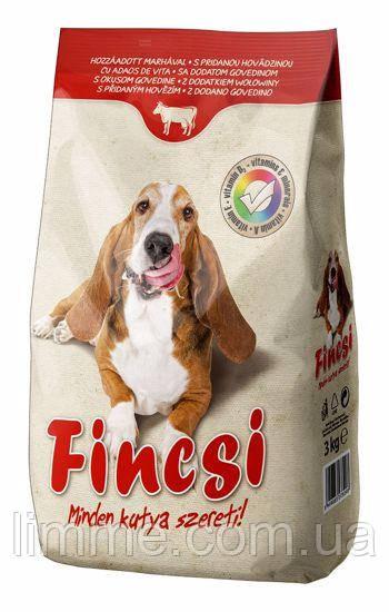 Сухий корм для собак Fincsi (велика рогата худоба) 3 кг.