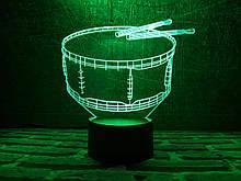 """Дитячий нічник - світильник """"Барабан"""" 3DTOYSLAMP"""