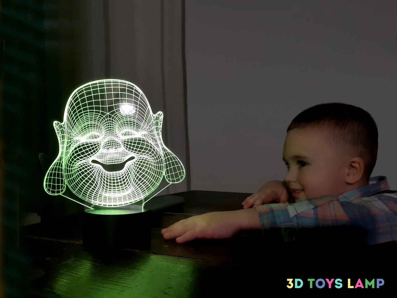 """Детский ночник - светильник """"Хотей"""" 3DTOYSLAMP"""