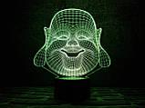 """Детский ночник - светильник """"Хотей"""" 3DTOYSLAMP, фото 2"""