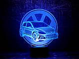 """3D светильник ночник """"Автомобиль 18"""" 3DTOYSLAMP, фото 2"""