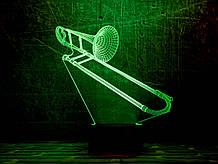 """3D світильник """"Труба 3"""" 3DTOYSLAMP"""