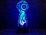 "3D светильник-ночник  ""FIFA"" 3DTOYSLAMP, фото 2"