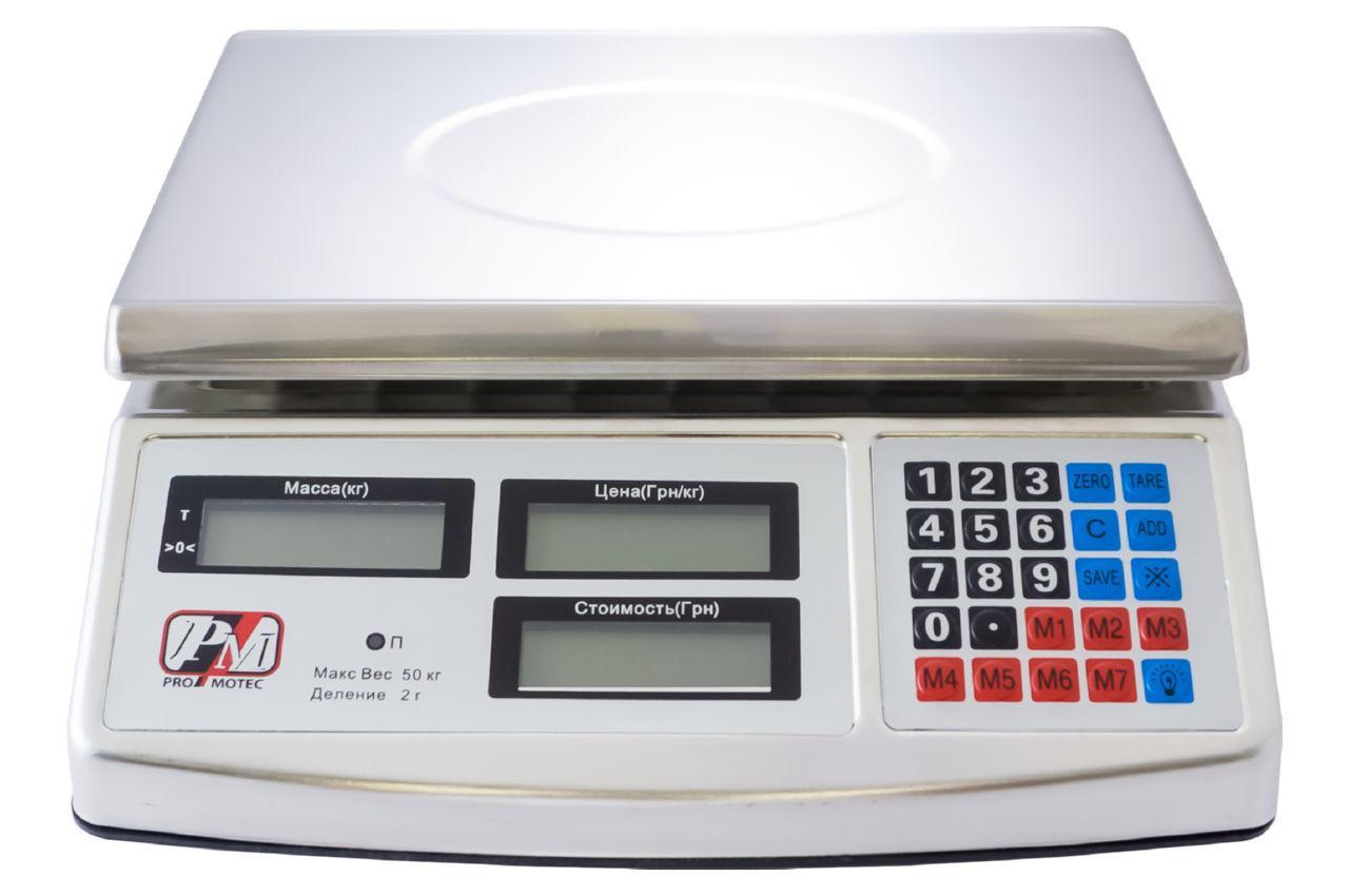 Весы торговые Promotec - PM-5055