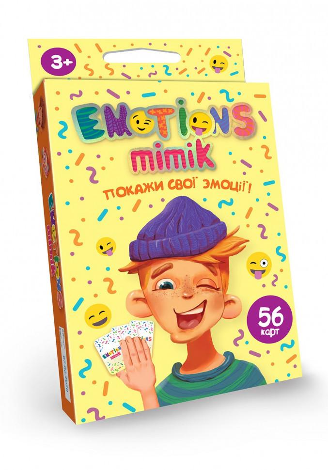 """Карточная игра """"Emotions Mimik"""" укр. EM-01-01U"""