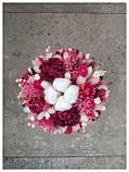 Букет из сухоцветов, стабилизированных цветов, фото 3