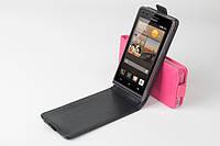 Чехол флип для Huawei Ascend G6-U10 чёрный