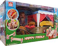 Карета Happy Family с животными