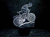 """Детский ночник - светильник """"Велосипед 3"""" 3TOYSLAMP, фото 2"""