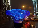 """Детский ночник - светильник """"Автомобиль 7"""" 3DTOYSLAMP, фото 2"""
