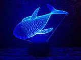 """Детский ночник - светильник """"Касатка"""" 3DTOYSLAMP, фото 2"""