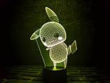"""Детский ночник - светильник """"Пикачу"""" 3DTOYSLAMP, фото 2"""
