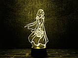 """Детский ночник - светильник """"Белоснежка"""" 3DTOYSLAMP, фото 2"""