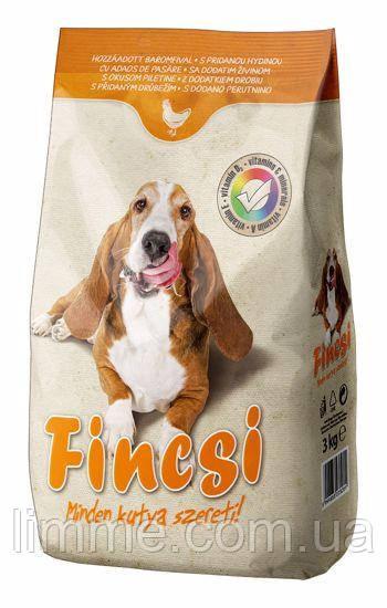 Сухой корм для собак Fincsi (курица) 3 кг.