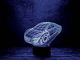 """Детский ночник - светильник """"Автомобиль"""" 3DTOYSLAMP, фото 2"""
