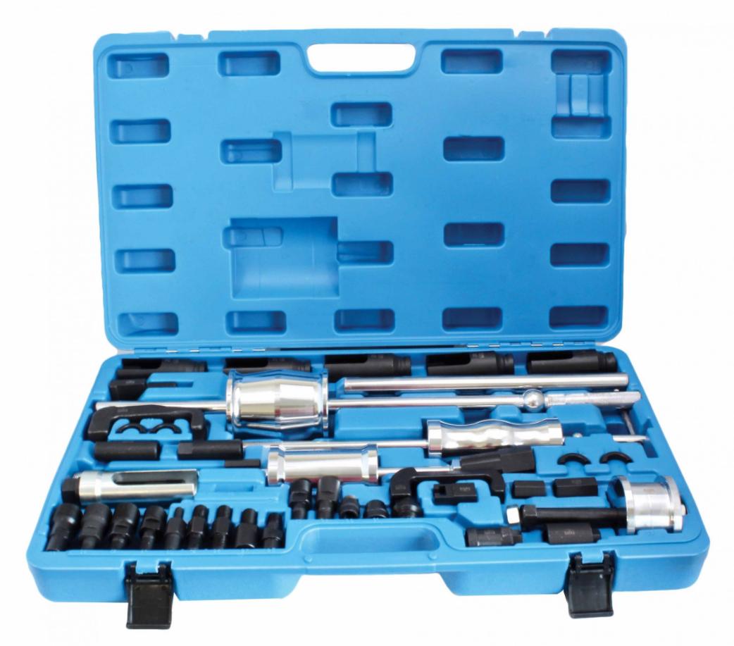 Набор для снятия форсунок с обратными молотками, головками и адаптерами SATRA S-ITSS