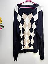 Чоловіча кофта пуловер Розмір ХL батал  ( З-27), фото 2