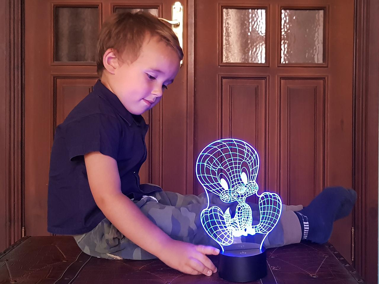 """Детский ночник - светильник """"Твити Пай"""" 3DTOYSLAMP"""