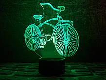 "3D ночник ""Велосипед"" 3DTOYSLAMP"