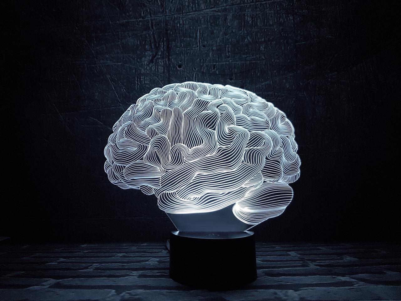 "3D ночник ""Мозг"" 3DTOYSLAMP"