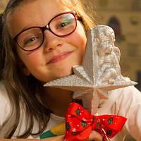 3Д пазл из картона Звезда на Елку Новогодний Рождественский подарок PZ 103