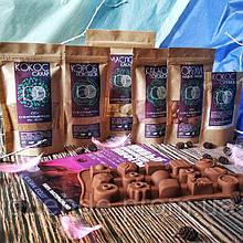 Бокс Подарочный набор для приготовления натуральных шоколадных конфет, вес - 715 гр / box - 001