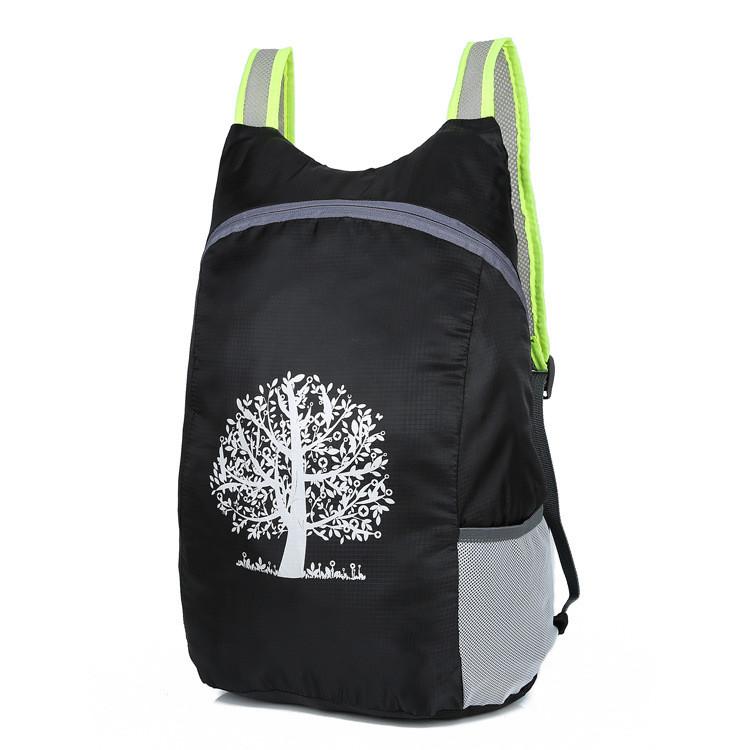 Складаний захисний рюкзак для чоловіків і жінок водонепроникний «Travel Handbag» (чорний)