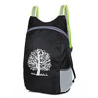 Складаний захисний рюкзак для чоловіків і жінок водонепроникний «Travel Handbag» (чорний), фото 1