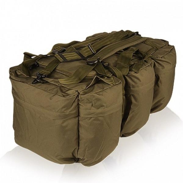 Туристическая сумка-рюкзак 98л MilTec COMBAT DUFFLE BAG TAP Olive 13846001