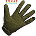 Перчатки тактические Logo Oakley Olive, фото 2