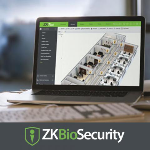 Программное обеспечение  ZKBioSecurity