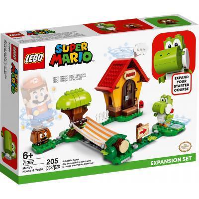 Конструктор LEGO Super Mario Дом Марио и Йоши дополнительный набор (71367)