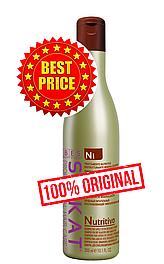 Питательный шампунь для обесцвеченных, сухих и ломких волос Silkat Nutritivo N1 300 мл