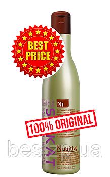 Живильний шампунь для знебарвленого, сухого і ламкого волосся Silkat Nutritivo N1 300 мл