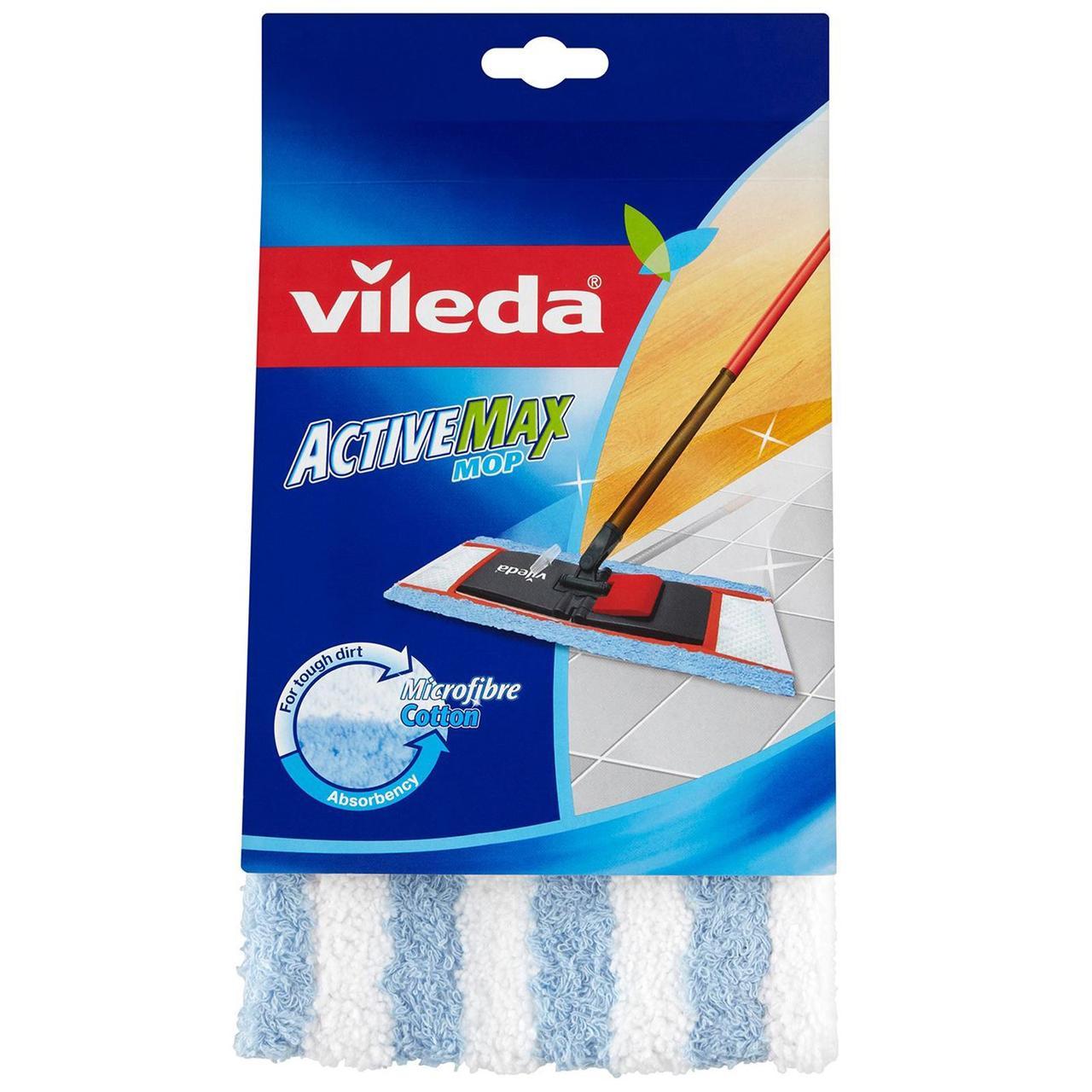 Змінний моп для швабри Active Max, Vileda, 1 шт.