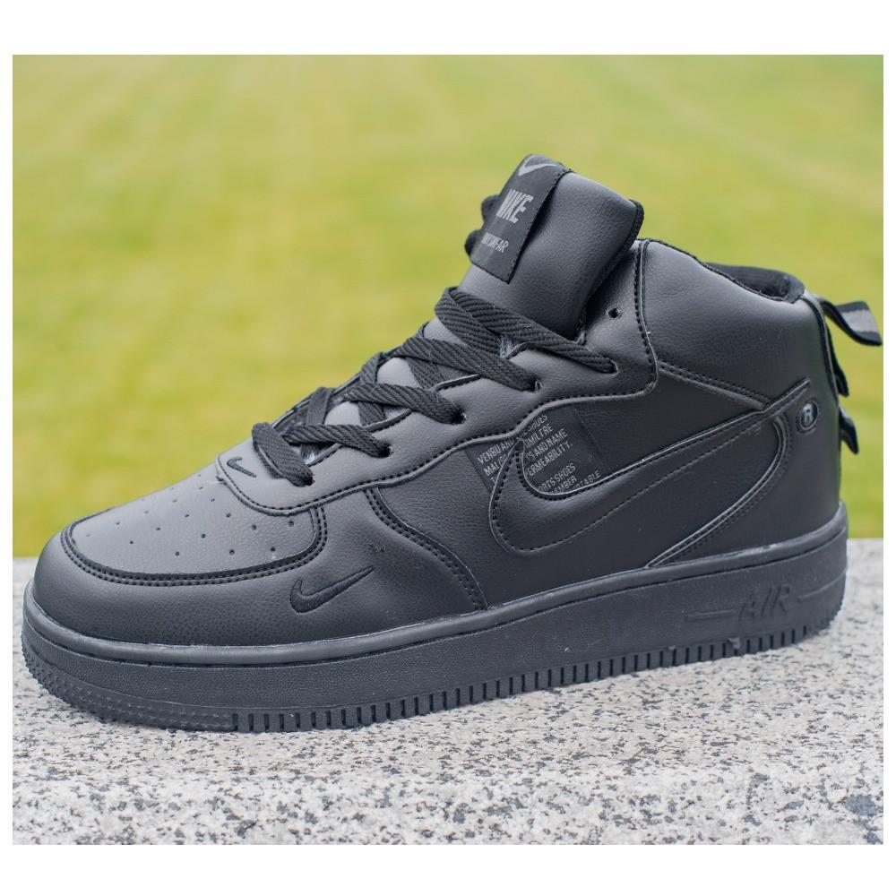 Мужские зимние кроссовки Nike Air Force 1 Mid 07 найк аир форс зимові кросівки Nike Air Force 1 Off White 07