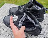 Мужские зимние кроссовки Nike Air Force 1 Mid 07 найк аир форс зимові кросівки Nike Air Force 1 Off White 07, фото 2