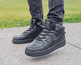Мужские зимние кроссовки Nike Air Force 1 Mid 07 найк аир форс зимові кросівки Nike Air Force 1 Off White 07, фото 3
