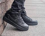 Мужские зимние кроссовки Nike Air Force 1 Mid 07 найк аир форс зимові кросівки Nike Air Force 1 Off White 07, фото 4