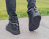 Мужские зимние кроссовки Nike Air Force 1 Mid 07 найк аир форс зимові кросівки Nike Air Force 1 Off White 07, фото 6