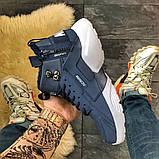 Мужские зимние кроссовки Nike Huarache X Acronym City Acrum найк хуарачи зимові кросівки Nike Air Huarache MID, фото 3