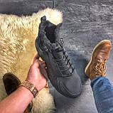Мужские зимние кроссовки Nike Huarache X Acronym City Acrum найк зимові кросівки Nike Air Huarache MID Black, фото 2