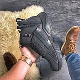Мужские зимние кроссовки Nike Huarache X Acronym City Acrum найк зимові кросівки Nike Air Huarache MID Black, фото 3