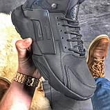 Мужские зимние кроссовки Nike Huarache X Acronym City Acrum найк зимові кросівки Nike Air Huarache MID Black, фото 4