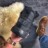 Мужские зимние кроссовки Nike Huarache X Acronym City Acrum найк зимові кросівки Nike Air Huarache MID Black, фото 5