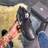 Зимние кроссовки Nike Air Force High Black Fur найк аир форс 1 хай зимові кросівки Nike Air Force 1 High '07, фото 4