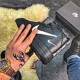 Зимние кроссовки Nike Air Force High Black Fur найк аир форс 1 хай зимові кросівки Nike Air Force 1 High '07, фото 7